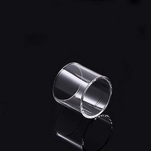 Denghui-ec 1pc Ersatz Pyrex Glasrohr for Wismec Predator 228 Kit Elabo Kapazität 4,9 ml /4.6ml Behälter (Farbe : Klar)