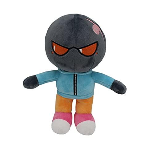 Muñeca de Peluche Muñeca Muñeca Hombre de Calabaza Penny State Cumpleaños Regalo de cumpleaños Juguetes de Dibujos Animados(Bomber,25cm)
