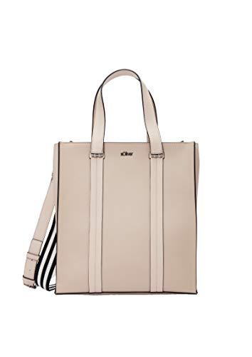 s.Oliver (Bags Damen 39.002.94.8789 Tasche Henkeltasche, Braun (Brown), 15.5x32.5x29.5 cm