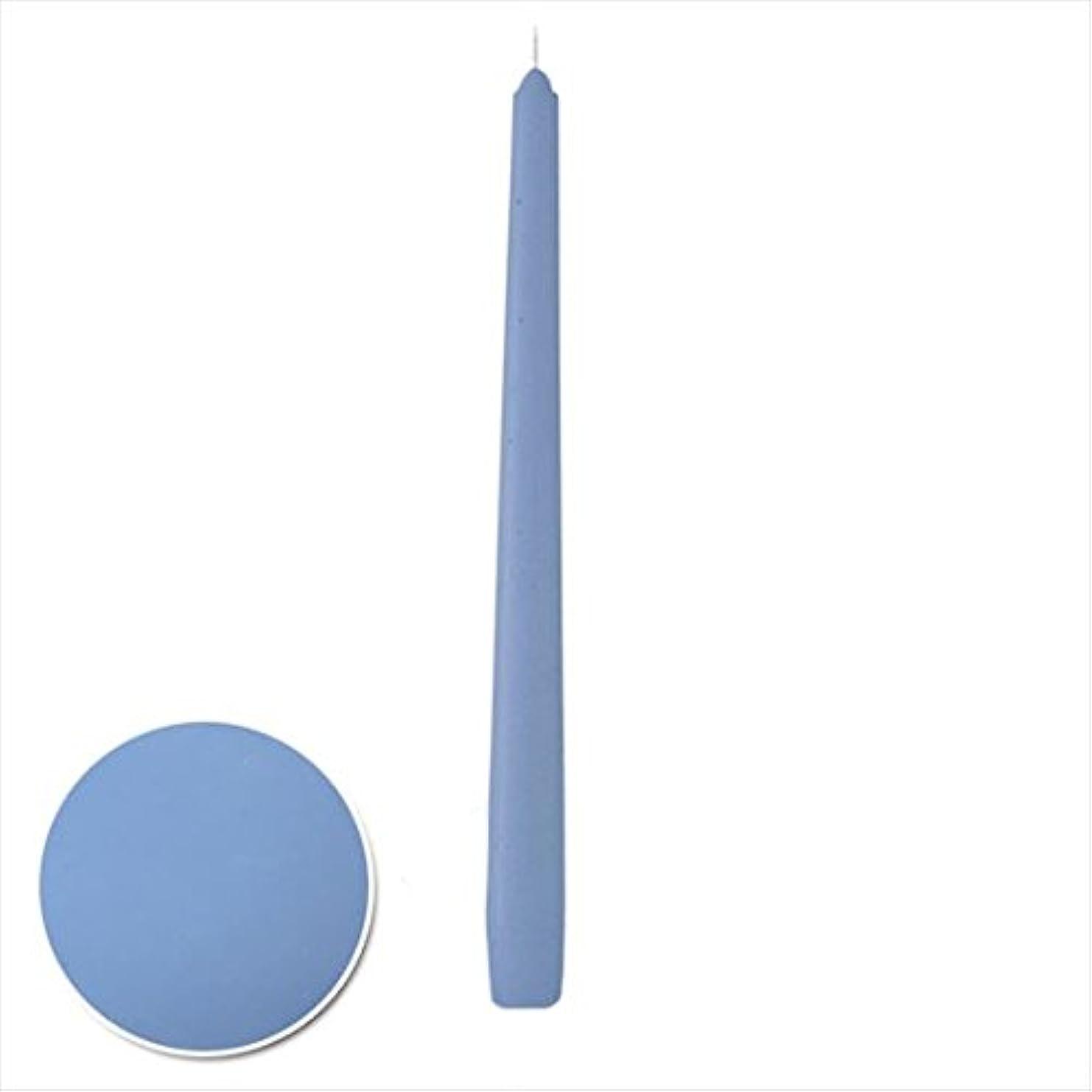 困難ファイル偉業カメヤマキャンドル( kameyama candle ) 12インチテーパー 「 パープルブルー 」 12本入り