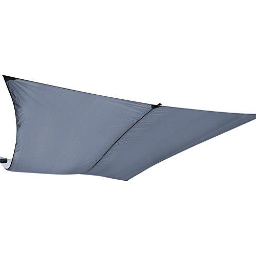Toldo rectangular impermeable de EBTOOLS, toldo de jardín, toldo para jardín, cafe al aire libre, camping, picnic, arena, 3 x 4 m, gris