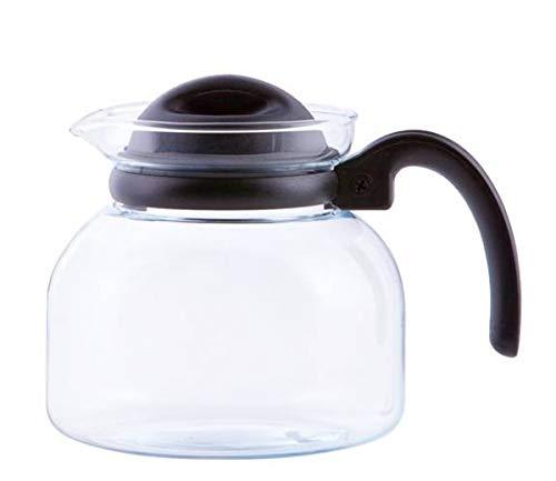 Glas Teekanne Mikrowellenkanne 1,0L