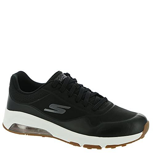 Skechers Zapatillas de golf Go Skechers Air Dos de ajuste relajado para hombre, negro (Negro/Dorado), 43 EU