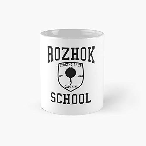 Rozhok School Cooking Club Pubg Klassische Tasse Bestes Geschenk Lustige Kaffeetassen 325 ml