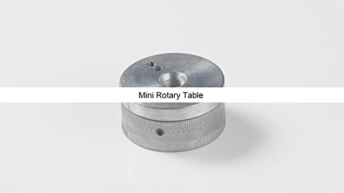 Best Bargain New Z023A Mini Rotary Table/ Metal Rotation Plate/Aluminum Turntable/Zhouyu Accessory