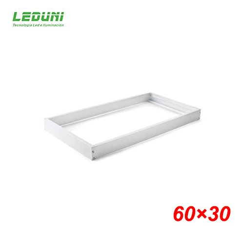 LEDUNI ® Marco Panel LED Empotrable Kit de Superficie Panel 60X30 Marco de Montaje...