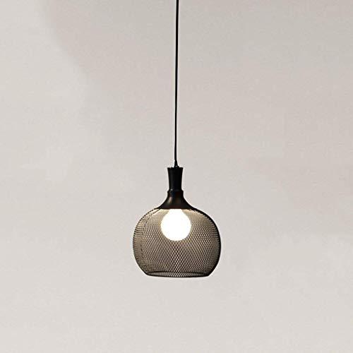 Exquisita Pendiente de la luz de American Retro Industrial del viento del acoplamiento de alambre luz de techo de la personalidad creativa de la isla de la lámpara de la tienda de ropa que cuelga luce