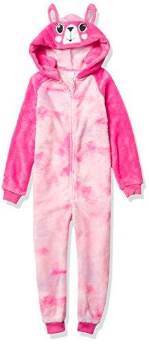 Petit Lem Girl Pyjama Onesie Knit, 403 Fuchsia, 4