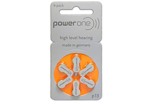 90 X Size P13 Powerone Hearing Aid Batteries