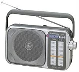 Panasonic RF-2400D AM / FM Radio, Silver