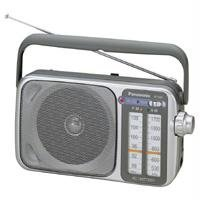 RF 2400 AM/FM Analogue Tuner: Frequency Range FM 87 to 108MHz (50kHz step) AM 520 to 1730kHz (9/10kHz step) 10 centimeter Speaker and Ferrite Antenna for good sound Audio System Power Output (RMS): 770mW Max other power source battery DC 6V (R6/LR6, ...