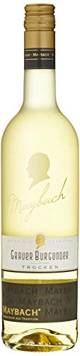Maybach Grauer Burgunder trocken, Qba, 2016 (1 x 0.75 l)