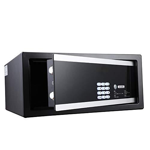 TYJKL Caja Fuerte Seguridad Digital Electronic Safe Gabinete Caja de Bloqueo de Pared de Pared para Oficina en casa almacenar Documentos Importantes (Color : Black, Size : 42x30x19cm)