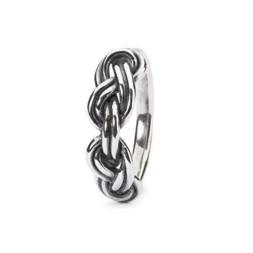 Trollbeads Silber Savoy Knoten Ring 56mm