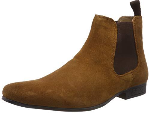 Red Tape Herren Stanway Chelsea Boots, Braun (Tan 0), 43 EU