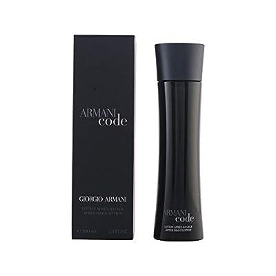 Armani Code by Giorgio Armani Aftershave For Men, 100ml