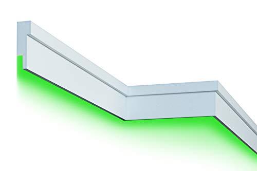 2 Meter |Fassade | LED Stuck | EPS | PU | wetterfest | 45x140mm | MC305