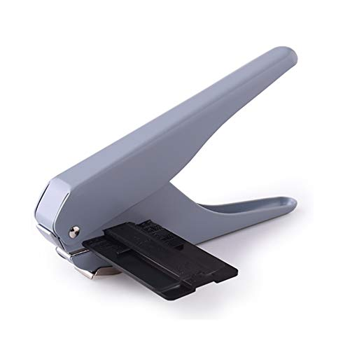 belupai Seta agujero forma sacador DIY cortador de papel T-Type perforador artesanía máquinas oficinas papelería