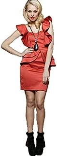 Honey & Beau - First in Line Dress (HD46034 - Copper Size 8)