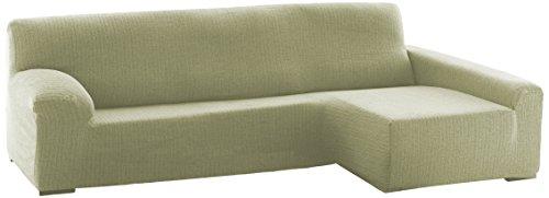 Eysa Dam F038310D - Funda elástica para chaise longue , crudo