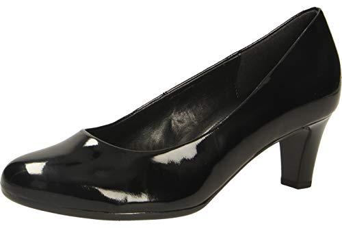 Gabor Shoes Damen Fashion-41.400 Pumps, Schwarz (Schwarz (+Absatz) 77), 37.5 EU