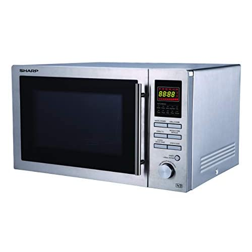 31A5Lt39u+L. SS500  - Sharp R82STMA Combination Microwave Oven, 25 Litre capacity, 900W, Stainless Steel