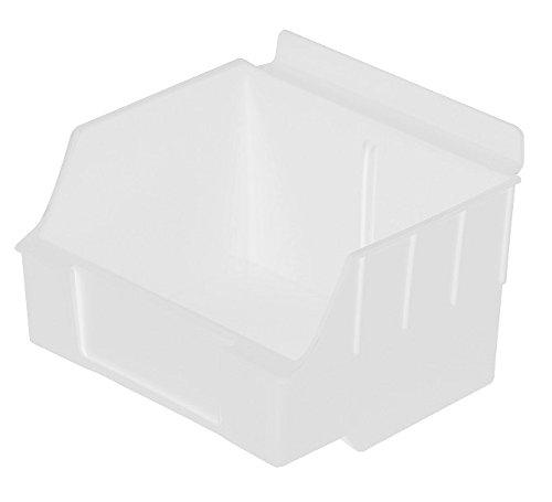Max 79% OFF Slatwall Storage Display bin Brand new Polypropylene 4.62