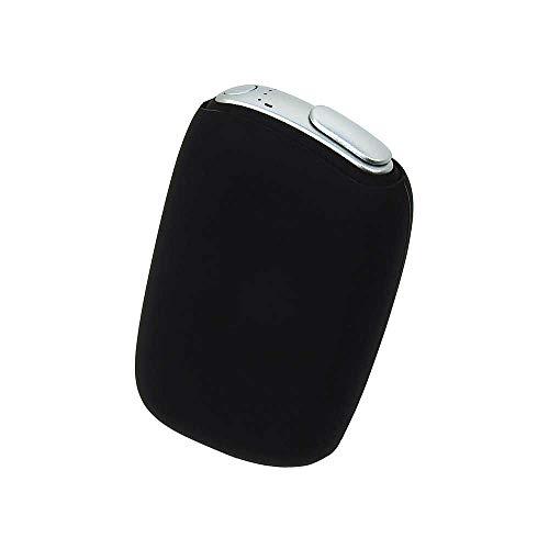 Ploom S ケース プルーム エス ブラック カバー 電子タバコ 専用 耐衝撃 耐熱 薄型 頑丈 シンプル コンパクト 軽量 ソフト シリコン【Provare】 (Ploom S, ブラック)