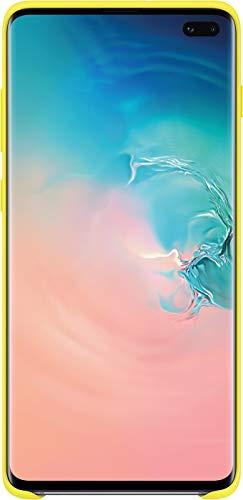 Samsung Silicone Cover, funda oficial para Samsung Galaxy 10+, color Amarillo