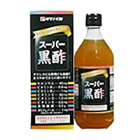 タマノイ スーパー黒酢500ml瓶×6本入×(2ケース)
