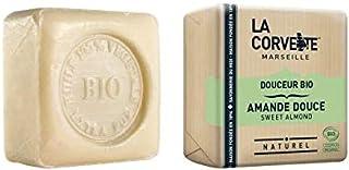 Organic Sweet Almond Bar Soap- La Corvette- Savon de Marseille