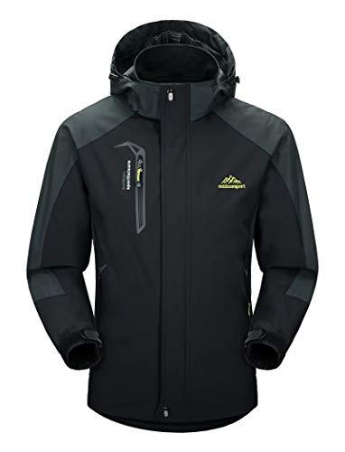 Tommy Hilfiger Men's Classic Hooded Puffer Jacket (Standard and Big & Tall), Midnight, Medium