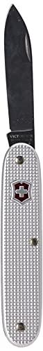 Victorinox Swiss Army 1 Alox Taschenmesser (1 Funktion, grosse Klinge) Swiss Made, Silber in Alox-Schalen