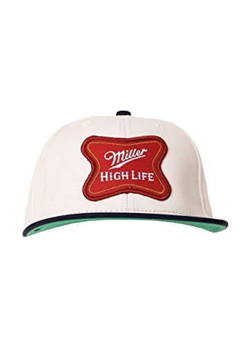 Miller High Life Logo Cotton Twill Snapback Hat Standard