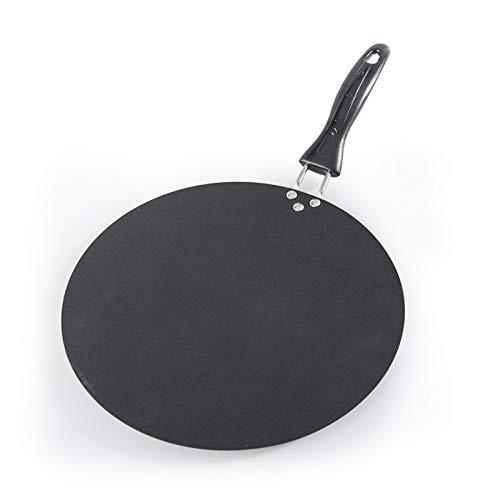 sarten Antiadherente 30 cm hierro freying sartén antiadherente cepo de crepé para panqueques huevo tortacas de tortilla asada estufa de inducción de gas de utensilios de cocina herramientas de cocina