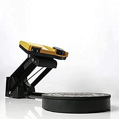 SOL 3D Scanner | White Light Desktop Laser 3D Scanner | Precise, Affordable and User-Friendly | New Generation Auto Scan 0.1 mm Accuracy Scanning Technology