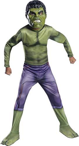 Marvel–i-610428m–Kostüm für Kinder–Klassische Hulk–Avengers 2–Größe M