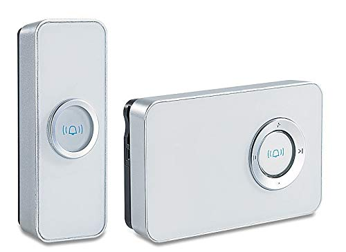 FreeTec draadloze deurbel MP3 design IMP-33 100 MB geheugen