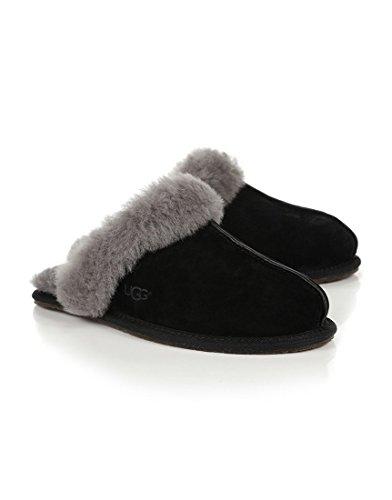 UKMiniMarket, Pantofole Donna, Nero