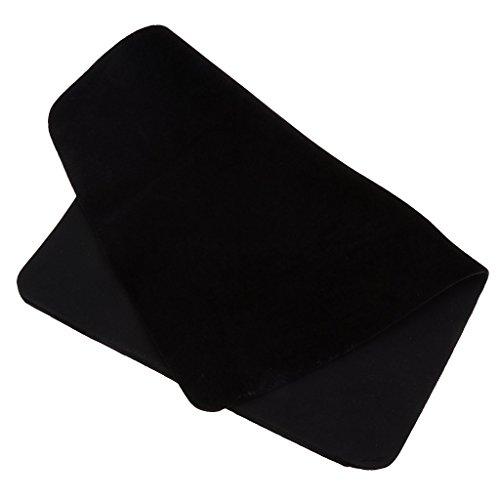 Ogquaton Tapis de Poker Pad de Cartes Magic Portable pour Accessoire Magician 42 x 32cm Noir Durable et utile