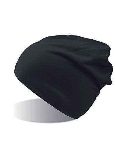 Atlantis Flash Jersey Slouch Beanie - Black - OS