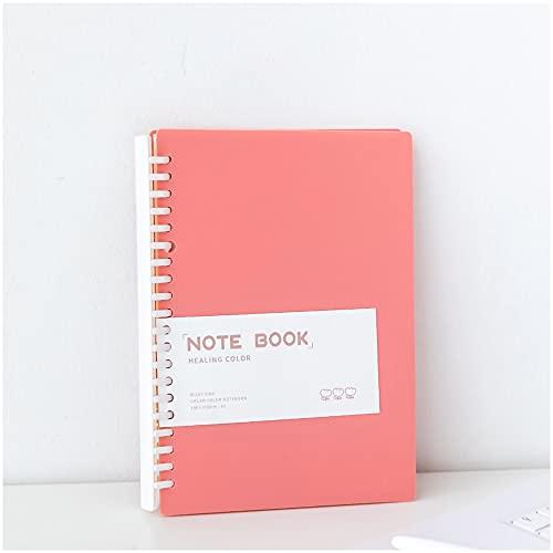 Libretas Bonitas Cuaderno 80 Kawaii A5 Cuaderno De Hojas Sueltas Cuaderno Agenda Agenda Plan Bloc De Notas Libros PapeleríA Escolar Cuaderno (Color : Green)