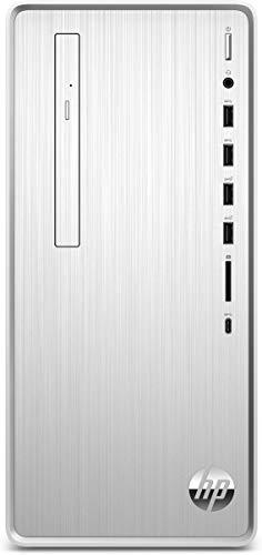 HP Pavilion TP01-1028ng Intel® CoreTM i7 processori 10° generazione i7-10700F 16 GB DDR4-SDRAM 1256 GB HDD+SSD Mini Tower Argento PC Windows 10 Home