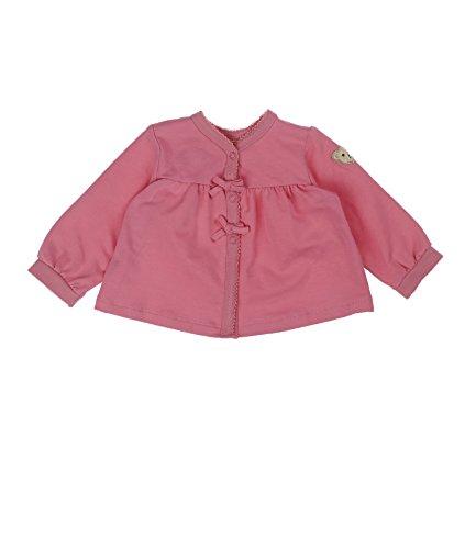 Steiff 6512113 Blouson, Rose (Morning Glory Rose 2998), FR: 3 Mois (Taille Fabricant: 62) Bébé Fille