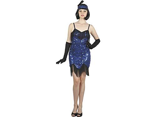 DISONIL Costume Cabaret Blu Donna M