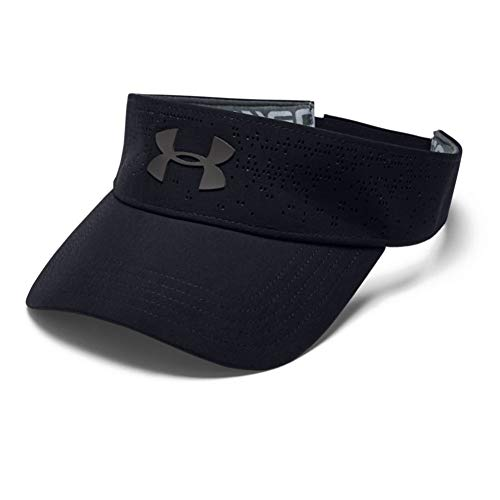 Under Armour Damen Elevated Golf Kappe, Schwarz, OSFA