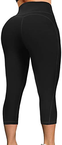 TQD High Waisted Yoga Pants for Women, Workout Yoga Pants with Pockets Tummy Control Running Yoga Leggings