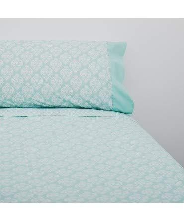Lot de 10 draps Lua Aqua - Composition : 50% Coton + 50% Polyester