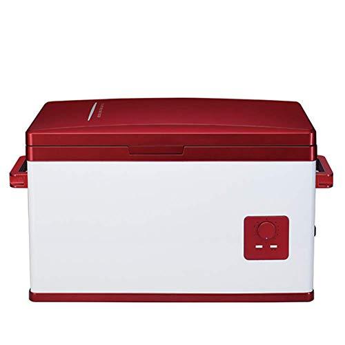 YLLN Mini congelador 30L refrigerador del Coche compresor del Coche refrigerador refrigerador pequeño Coche y hogar insulina portátil refrigerador Caja de calefacción y refrigeración 12V / 24V / 220V