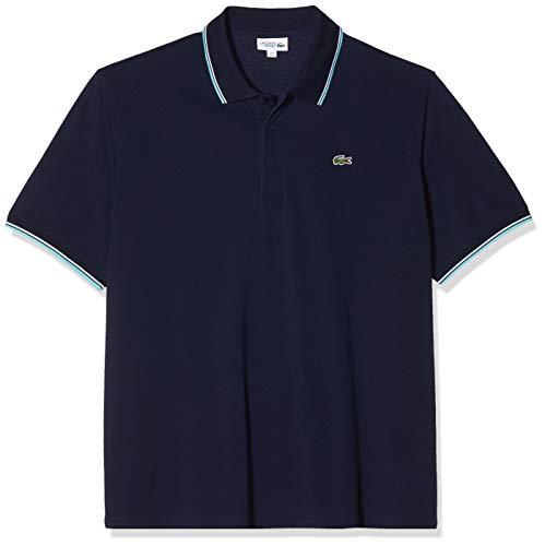 Lacoste Yh7900 Polo, Blu (Marine/Haiti-Blanc 2ye), Large (Taglia Unica: 5) Uomo